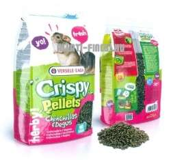Versele- Laga Crispy Pellets Chinchillas&Degus Breeder eledel csincsillának 25kg
