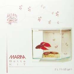 Marina Betta Kit Modern Art miniakvárium 14x14x15cm
