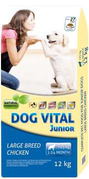 Dog Vital Junior Large Breed Chicken kutyatáp 12kg
