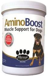 amino boost dog container_por